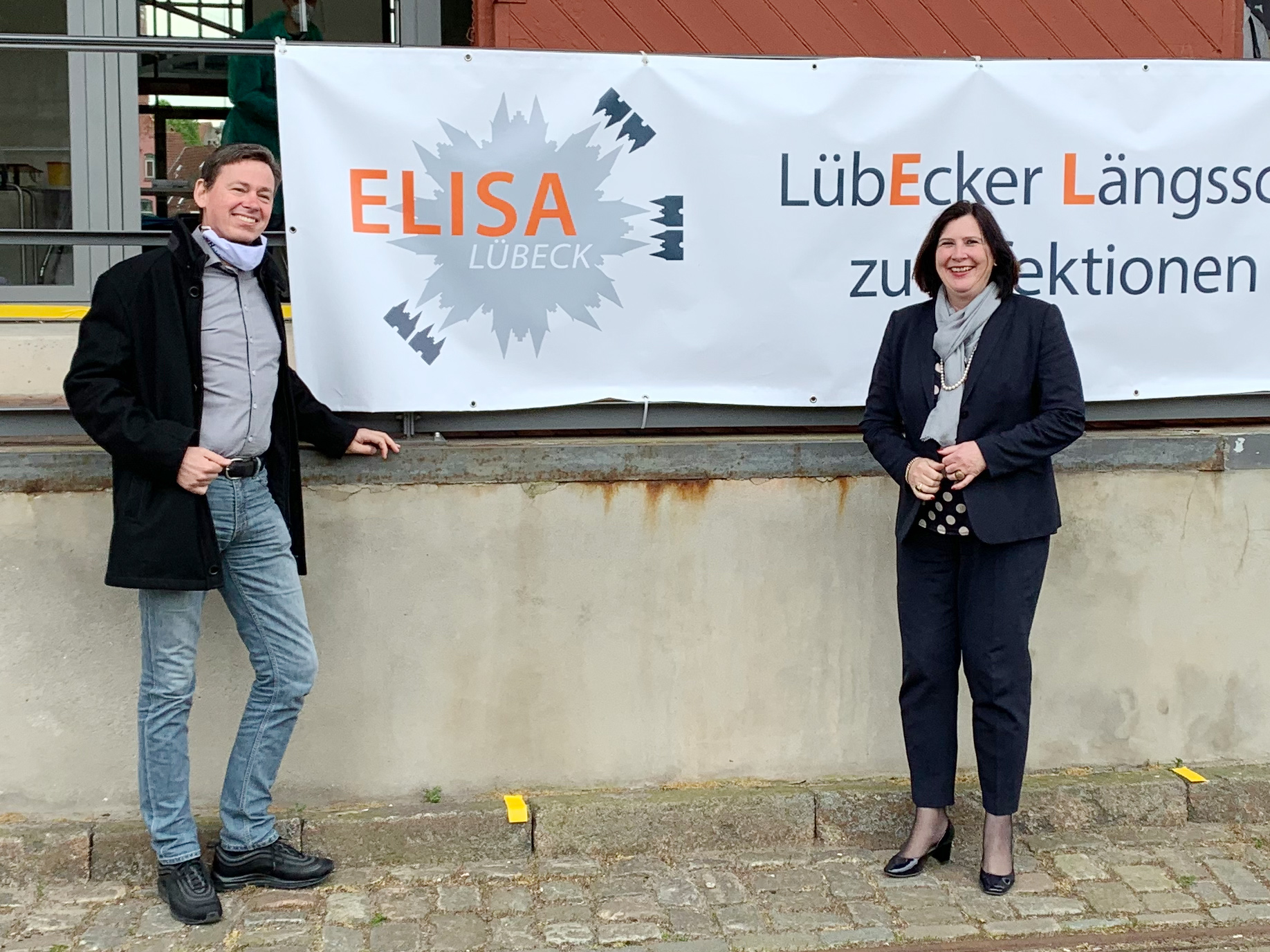 Prof. Alexander Katalinic und Prof. Dr. Claudia Schmidtke